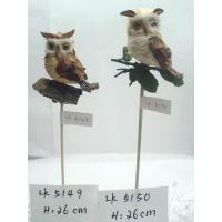 Artificial crafts Handmade owl,bark and grass holiday  gifts and decoration and ornaments,garden ornaments Manufactures