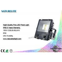 Custom 150W  High Wattage Led Flood Lights Efficient Lens Exhibition halls, Gas station, ect Manufactures