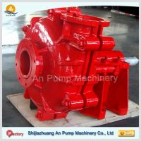 China Natural Rubber Lined Mining Horizontal Slurry Pump on sale