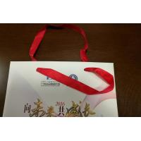 China Custom Paper Gift Bags 4 Color / PMS Offset Printing with Handle Wedding Use on sale