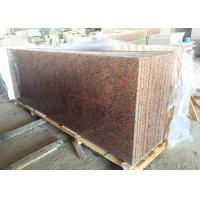 Maple Red Kitchen Island Granite Top 1.8 Cm Thick 4 Edges Polished Manufactures