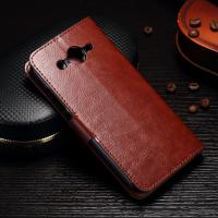 PU Leather Huawei Y3 Phone Case Handmade Light Weight With Slot Function Manufactures