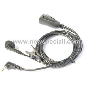 Single walkie talkie headset with speaker Manufactures
