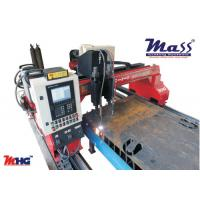 Double Sided Driven CNC Flame Plasma Cutting Machine With Status Indication Device Manufactures