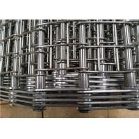 Industrial Heavy Duty Conveyor Chain Belt Stainless Steel 304 Corrosion Resistant Manufactures