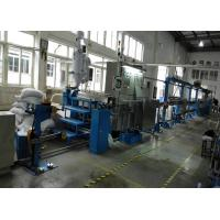 China Durable plastic extrusion equipment cable extrusion machine With 1000mm Pay Off Bobbin on sale