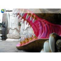 Flexible Mobile 5D Dinosaur Cinema Equipment 5D Movie Theater System ISO9001 Manufactures