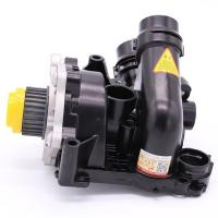Water Pump Assembly 06H121026DD Audi Car Engine Parts Water Pump Module Includes Thermostat Temp Sensor Gasket Manufactures