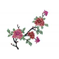 Water Soluble Crochet 3D Flower Embroidered Applique Patches for Clothes and Dress Manufactures