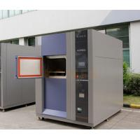 CE Marked High and Low Temperature 3-Zone Thermal Shock Testing Chamber Manufactures