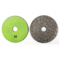 30#, 50#, 100# Stone Granite Polishing Pads / Concrete Diamond Grinding Pads Manufactures