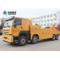 8X4 SINOTRUK HOWO 30T 40T Heavy Duty Rotary Wrecker Tow Truck 12 Wheels Manufactures