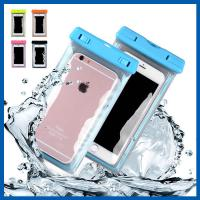 Heavy Duty Cell Phone Accessory Waterproof Iphone 6 Plus Bag Dirt Proof Manufactures