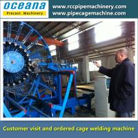 Steel Wire Cage welding machine for concrete pipe HGZ800-3000MM Manufactures