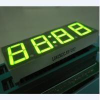 Super Green 0.56 Inch Clock LED Display , Common Anode 7 Display Manufactures