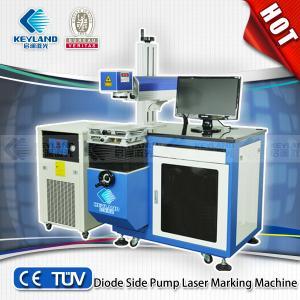 China price of ldiode side pump laser marking machine/diode laser marking machine/50W 75W 100W on sale