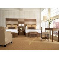 Contemporary Apartment Solid Oak Bedroom Furniture , Painted Light Oak Bedroom Furniture Sets Manufactures