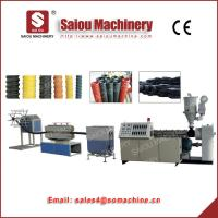 Buy cheap TSG100 TSG250 plastic machine PP PE carbon spiral pipe production line from wholesalers