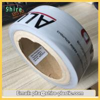 Black & White Low Tack Surface Protection Film Tape For PVC / ABS Sheet Manufactures