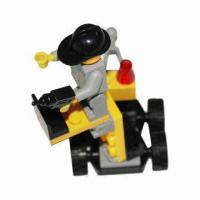Construction Vehicle Toy Brick, Made of ABS Material  Manufactures