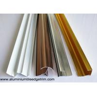 Anodized Aluminium Tile Edge Trim / Cladding Trim For Integrated Wallboard Manufactures