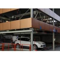 China Q345B Multi Storey Steel Structure Car Parking Automatic Hot Dip Galvanized Surface on sale