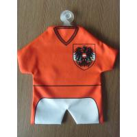 China Special Souvenir Jersey Towel , Promotional Gift Football Jersey Mini Towel on sale
