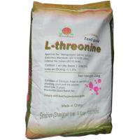 White Animal Nutrition L Threonine 98.5 Feed Grade Amino Acids No.SAA-THRL98 Manufactures