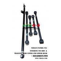 vrd4x4 adjustment Drag link and sway bar steering tie rod and trailing arms upper lower suspension for Nissan patrol Y61 Manufactures