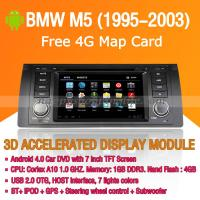 BMW M5 1995-2003 Android Auto Radio DVD Player with GPS Navigation Wifi 3G Digital TV RDS CAN Bus Manufactures