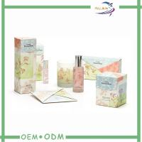 Customized Luxury Cosmetic Gift Box PMS / CMYK 350G Coated Paper Manufactures