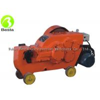 China 40mm Steel Square Bar Cutter Rebar Cutting Machine Solid Body Rebar Cutter with 2.2kw copper motor on sale