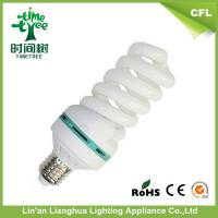 Full Spiral 32w 34w 8000h Energy Saving Light Bulbs / 6500K Daylight Fluorescent Bulb Manufactures