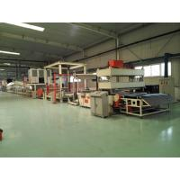 Bitumen Carpet Backing Machine Hot - Air Circulation Oven And Auto Constant Temp Manufactures