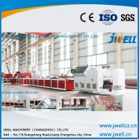 Jwell professional manufacturer of the ABS/PP/PE/PVC sheet&board extrusion line Manufactures