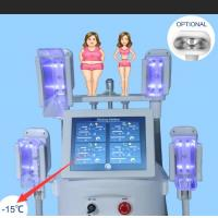 China ultra slim body slimming Four Handles Body Slimming Weight Loss Cryolipolysis fat freezing Machine on sale