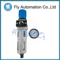 Blue Silver Compressed Air Preparation 1/2 Space Saving Aluminum Alloy Material