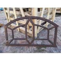 China Ancient Buiding Decorative Reclaimed Metal Window Frames Cast Iron For House on sale