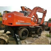 used excavator for sale WHEEL excavator ex160wd hitachi excavator  from japan Manufactures