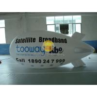 Waterproof Helium Zeppelin / Blimp Balloon with UV Protected Printing for Political events Manufactures
