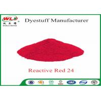 ISO9001 Clothes Color Dye Natural Clothing Dye C I Red 24 Reactive Red P-2B Manufactures