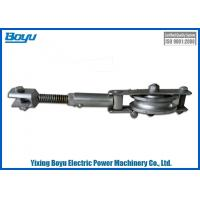 Adjustable Earth Wire Pulley Block Transmission Line Stringing Tools Accessories Rated load 10kn Manufactures