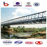 Prefabricated Delta Modular Steel Bridge Simple Structure For performance Manufactures