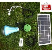 Solar Energy Lighting/Portable Solar Camping Lights with remote control Manufactures