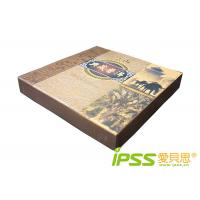 Metallized Paper / Cardboard Packaging For Food With Embossing Manufactures