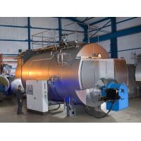 Quality Combustion 10 Ton Gas Fired Steam Boiler With Stainless Steel Plate for sale