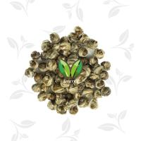 hand made white dragon pearl Green Tea Leaves and buds into pearl shape Manufactures
