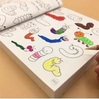 Blank Coloring Book Pages For Kids Water Brush Pen Magic Water Painting Manufactures