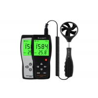 China Poratble Wind Speed Measuring Device Anemometer Gauge With LCD Back Light on sale