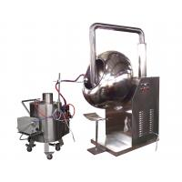 Chocolate Ball Simple Film Coating Machine , Automatic Tablet Coating Machine Manufactures